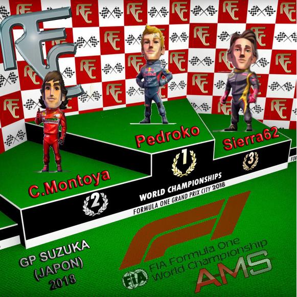 GP F1 SUZUKA 2018 Podium22