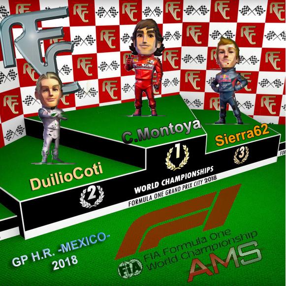 GP F1 MEXICO 2018 Podium26