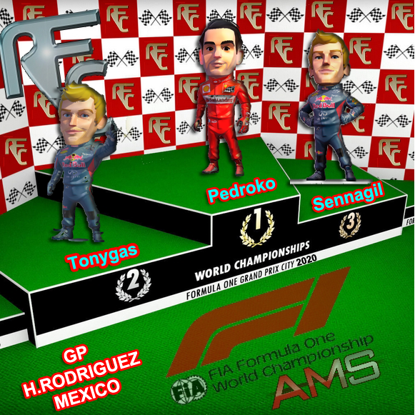 GP MEXICO 2020 Podium32