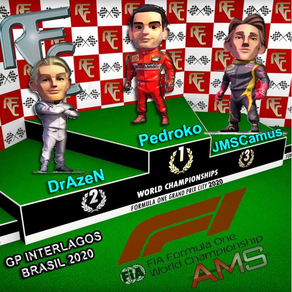 GP F1 INTERLAGOS Podium33