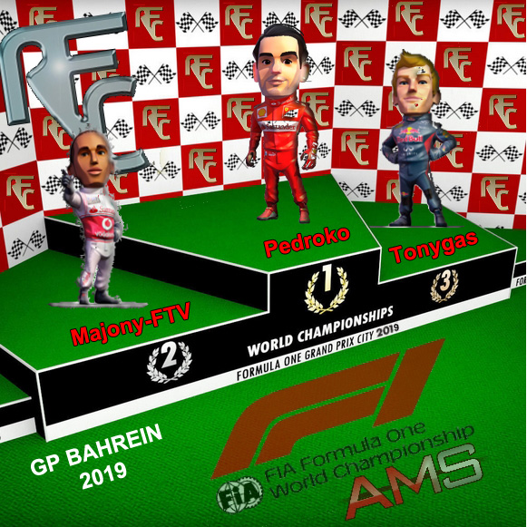 GP BAHREIN F1 2019 Podium37