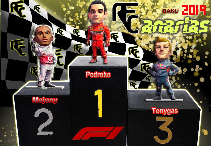 GP F1 BAKU (RUSIA) Podium39