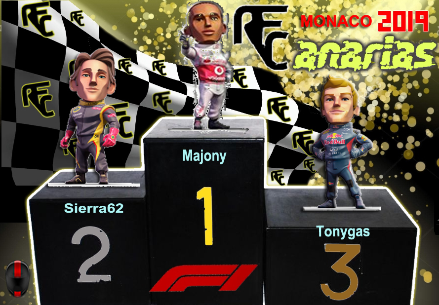 GP F1 MONACO 2019 Podium43