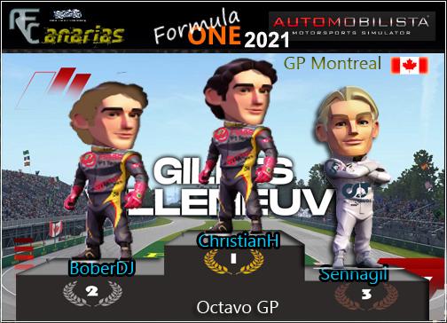 GP MONTREAL CANADA Podium45