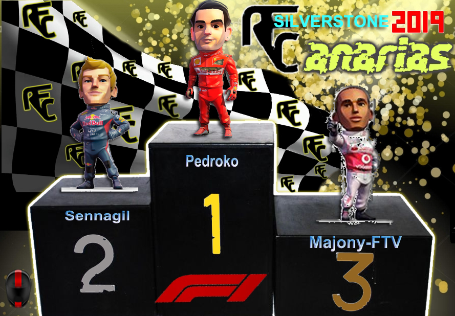 GP F1 SILVERSTONE 2019 Podium47
