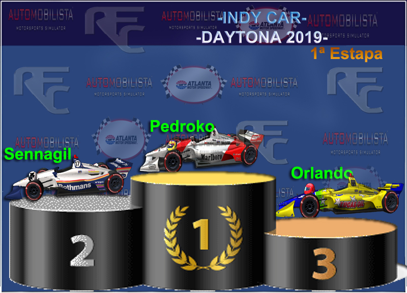 MINI-CAMPEONATO INDY CAR VERANO 2019 Podium48