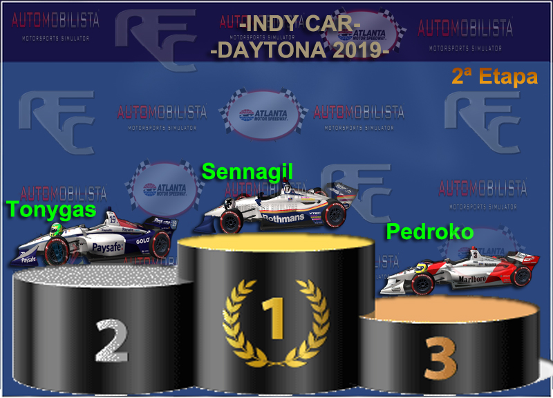 MINI-CAMPEONATO INDY CAR VERANO 2019 Podium49