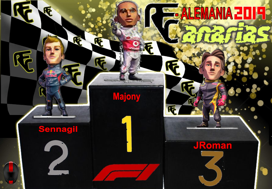 GP HOCKENHEIM ALEMANIA Podium51