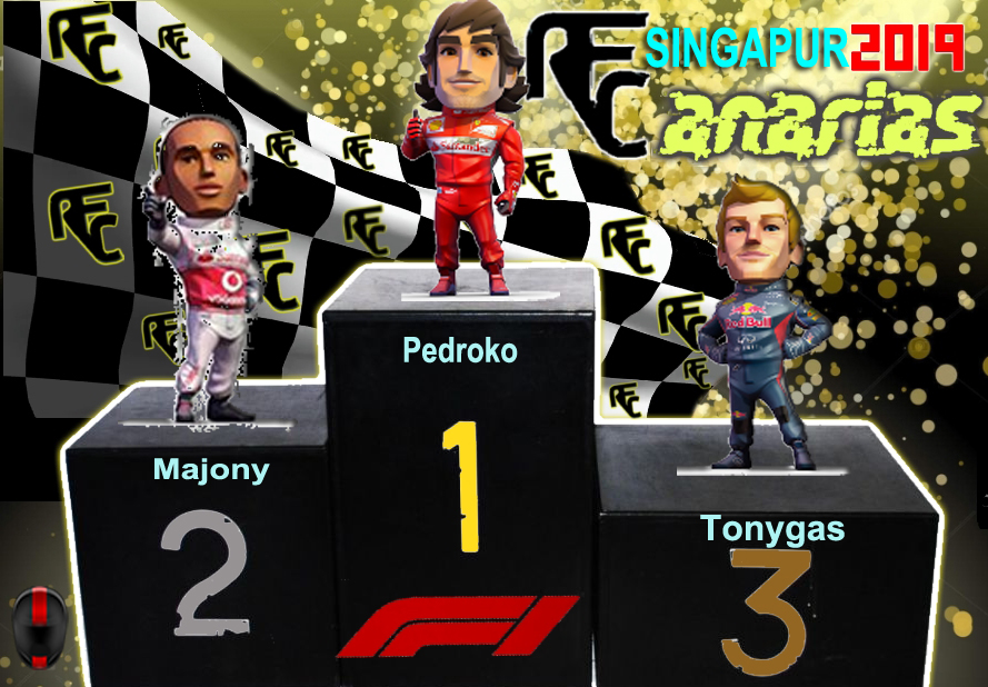 GP MARINA BAY (SINGAPUR) Podium52