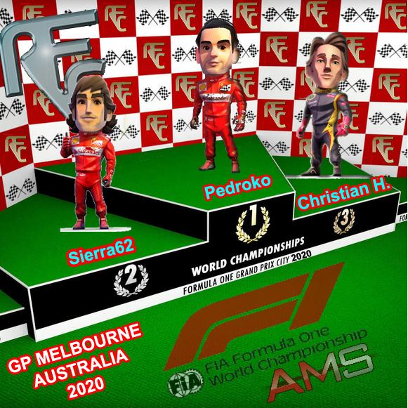 GP OFICIAL MELBOURNE AUSTRALIA Podium62