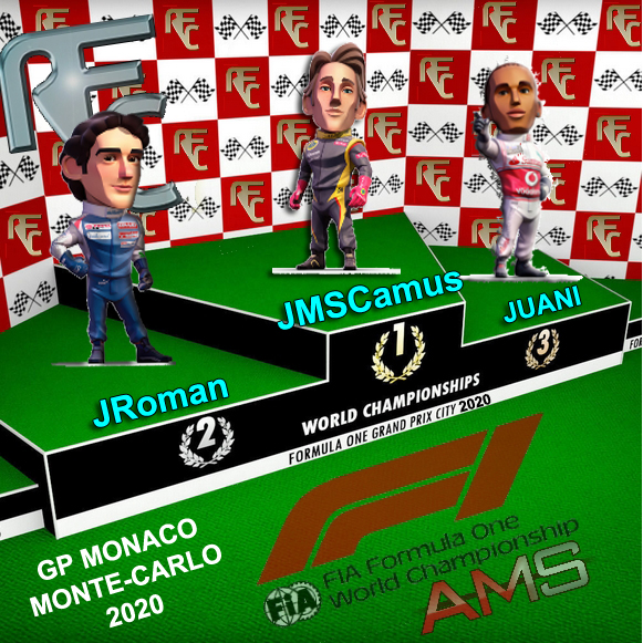 GP F1 MONTECARLO2020 Podium67