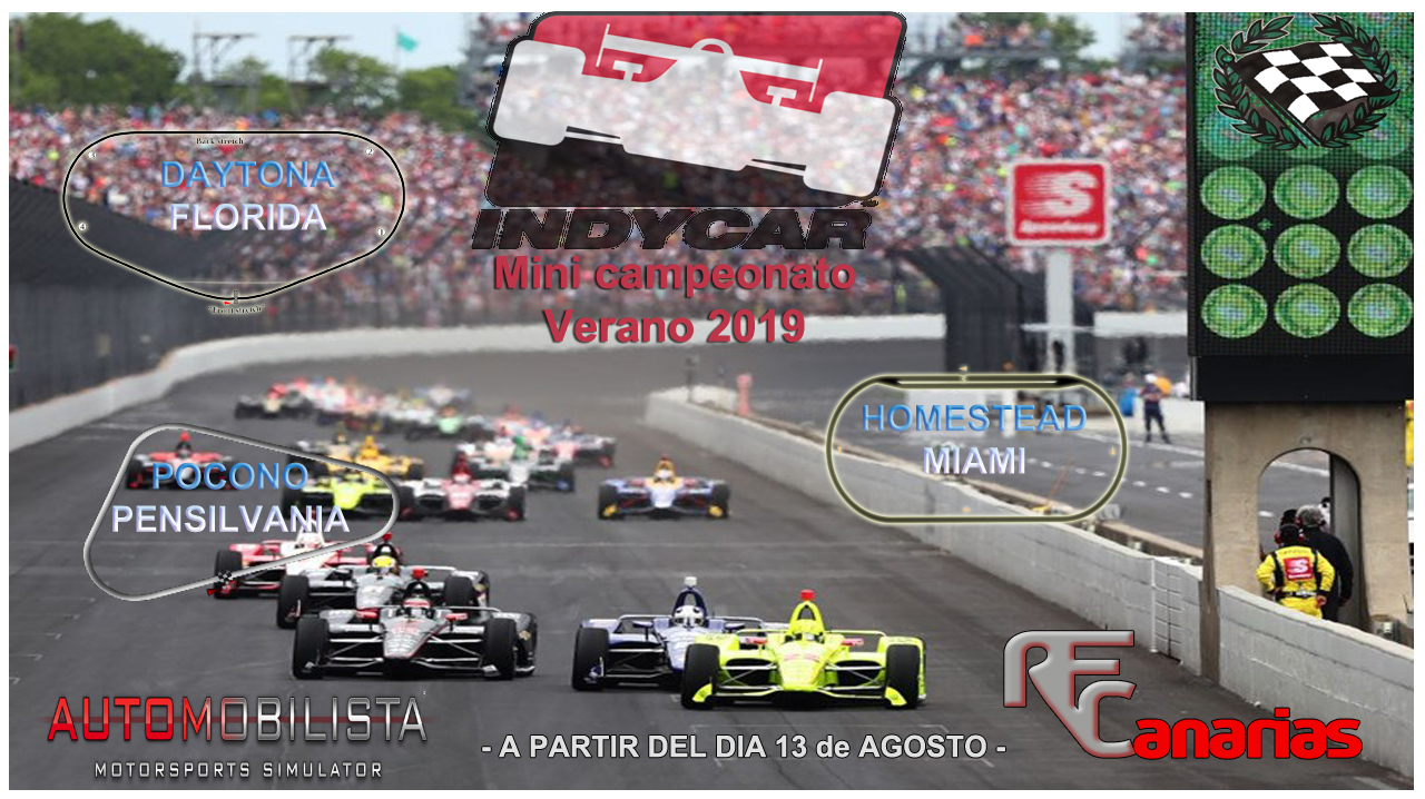 MINI-CAMPEONATO INDY CAR 2019- INFO + INSCRIPCIONES Presen10