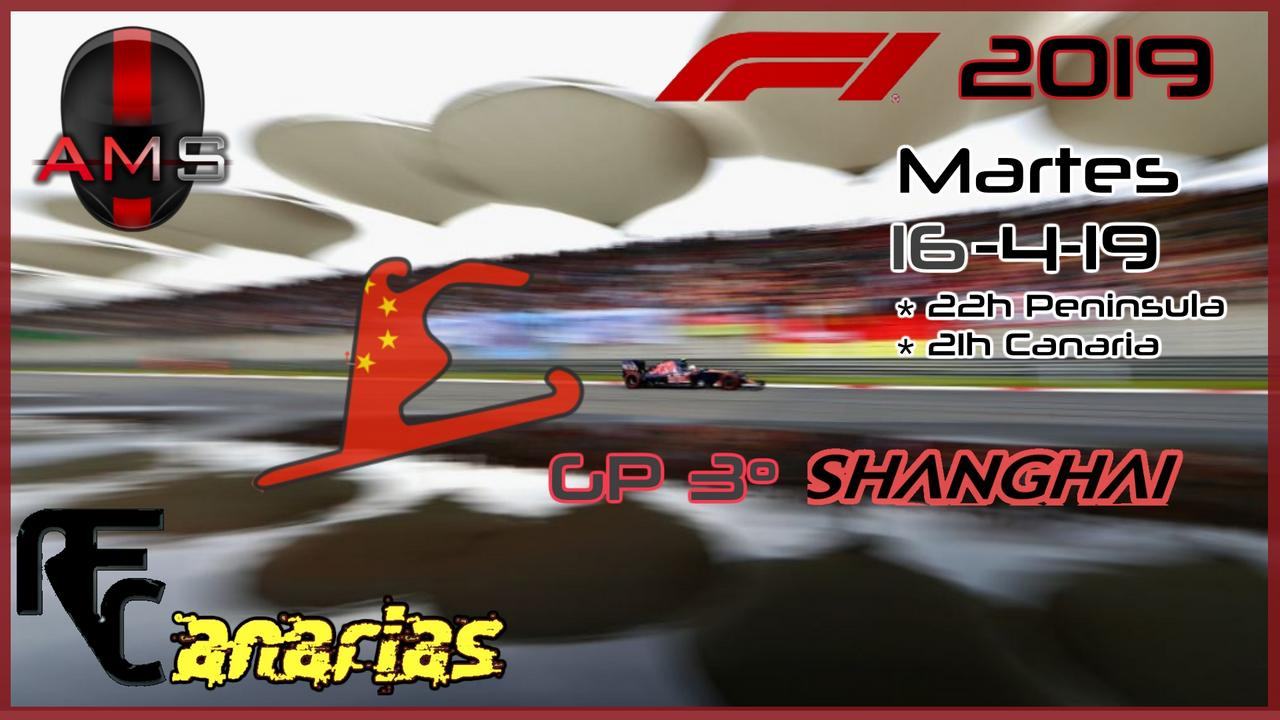 GP CHINA F1 2019 Rfc-2011