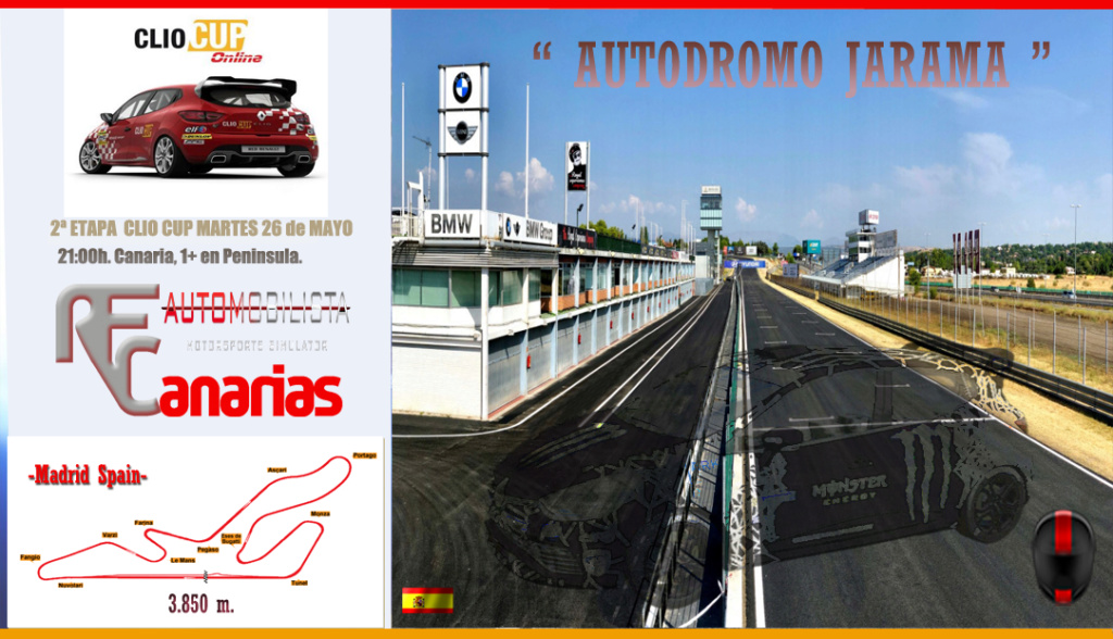 2ª ETAPA CLIO CUP (JARAMA) Segund10