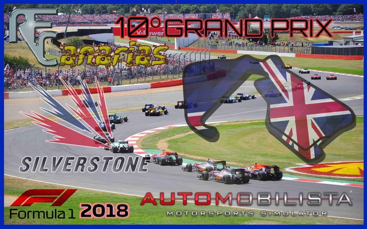 GP SILVERSTONE F1 2018 Silver10