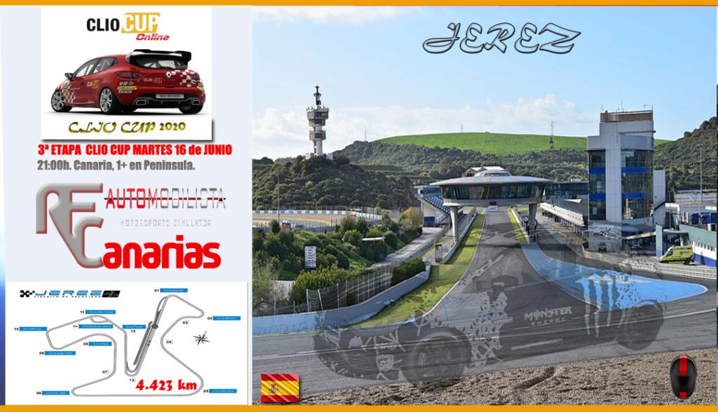 3ª ETAPA CLIO CUP JEREZ (SPAIN) Tercer10
