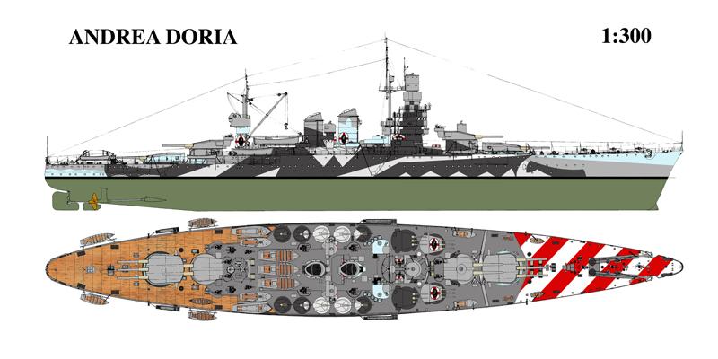 Doria - Corazzata Andrea Doria 1941 Andrea10