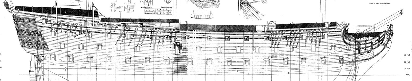 piani - H.M.S. Victory da piani costruzione della AMATI - Pagina 2 Fascia10