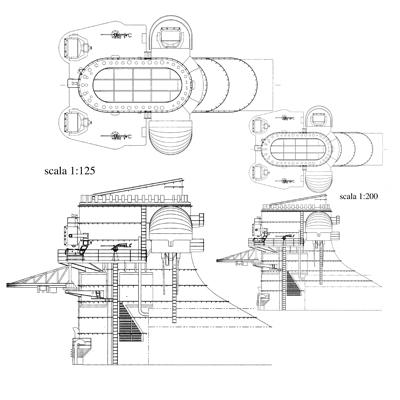 Corazzata Bismarck scala 1:200 Hachette/Amati Fumaio11