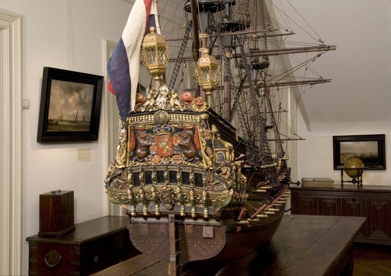 Yacht Brandeburghese XVII secolo Poppa_11