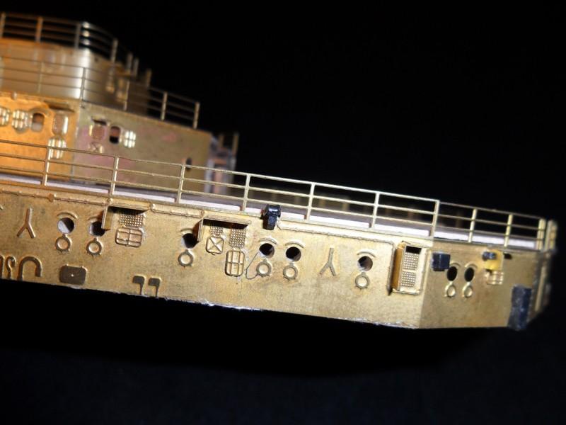 Corazzata Bismarck scala 1:200 Hachette/Amati Sam_0222
