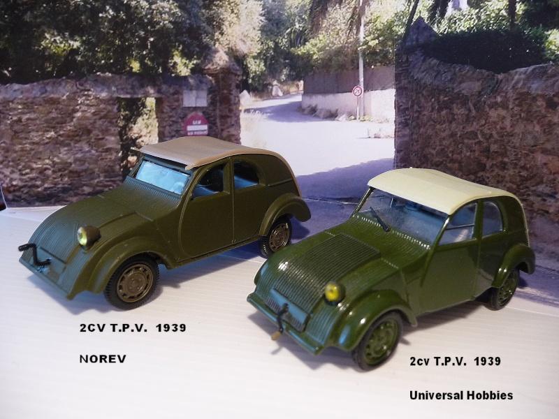 NOREV - les 4 prototypes de TPV CITROËN 2 cv   P1020913