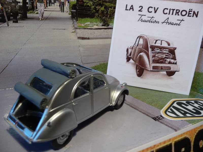 Maquette Heller au 1/43 éme-  2CV type A 1947 P1020923