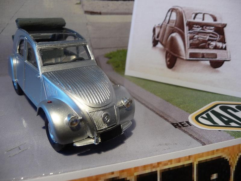 Maquette Heller au 1/43 éme-  2CV type A 1947 P1020924