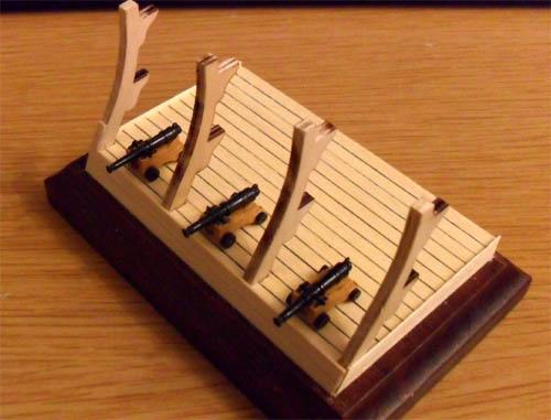 Wilfried's Baubericht zur Victory aus Holz und anderem Kram 02510