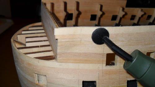 Wilfried's Baubericht zur Victory aus Holz und anderem Kram Bepl2710