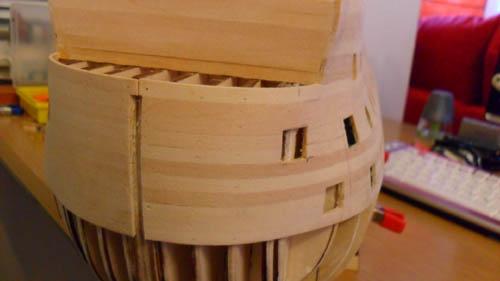 Wilfried's Baubericht zur Victory aus Holz und anderem Kram Bepl2910