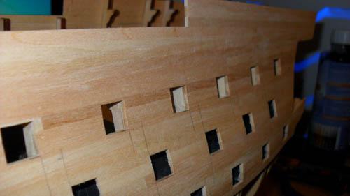 Wilfried's Baubericht zur Victory aus Holz und anderem Kram Bepl3010