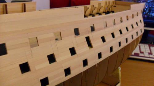Wilfried's Baubericht zur Victory aus Holz und anderem Kram Bepl3110
