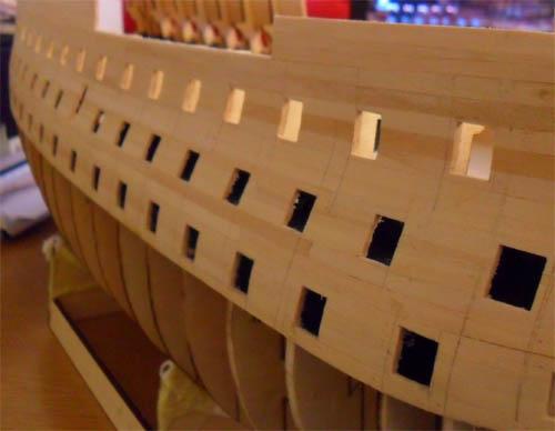Wilfried's Baubericht zur Victory aus Holz und anderem Kram Bepl3210