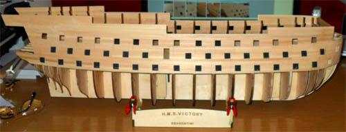 Wilfried's Baubericht zur Victory aus Holz und anderem Kram Bepl3410