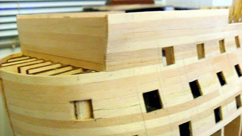 Wilfried's Baubericht zur Victory aus Holz und anderem Kram Bepl3610