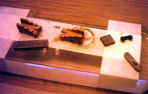 Wilfried's Baubericht zur Victory aus Holz und anderem Kram Kanone10