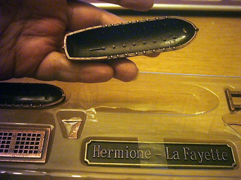 Hermione La Fayette 1780 / Artesania Latina Karton14