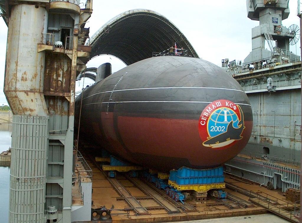 Les sous-marins Typhoon 000111