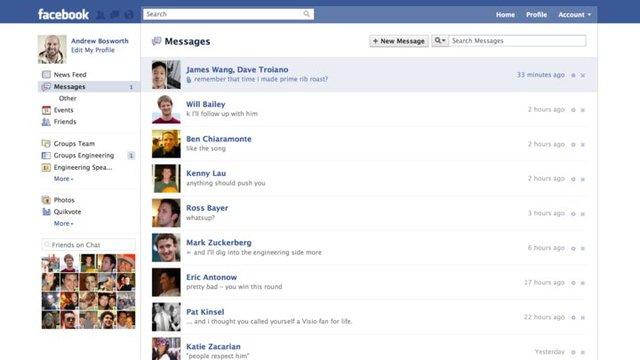 Upcoming Facebook Email Facebo10