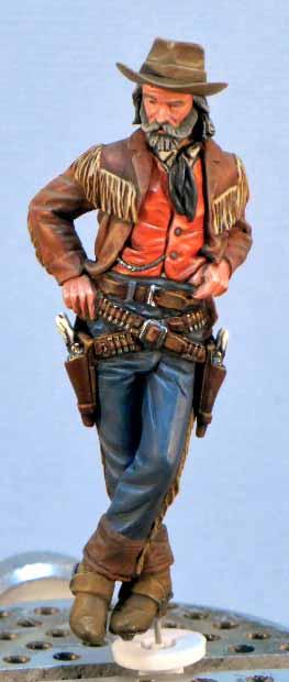 11°Fig :Le CowBoy dans le saloon. 1212