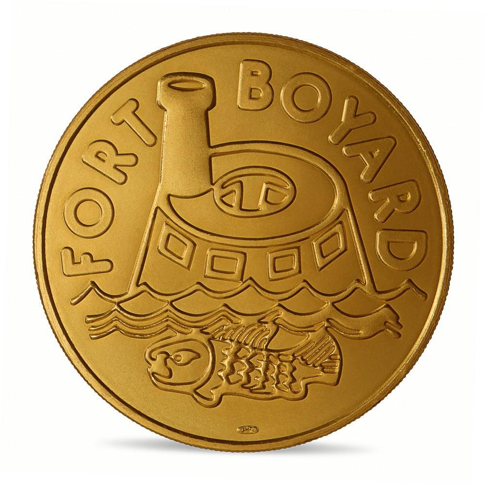 Vente d'une mini-médaille Fort Boyard 30 ans (Monnaie de Paris) 10011310
