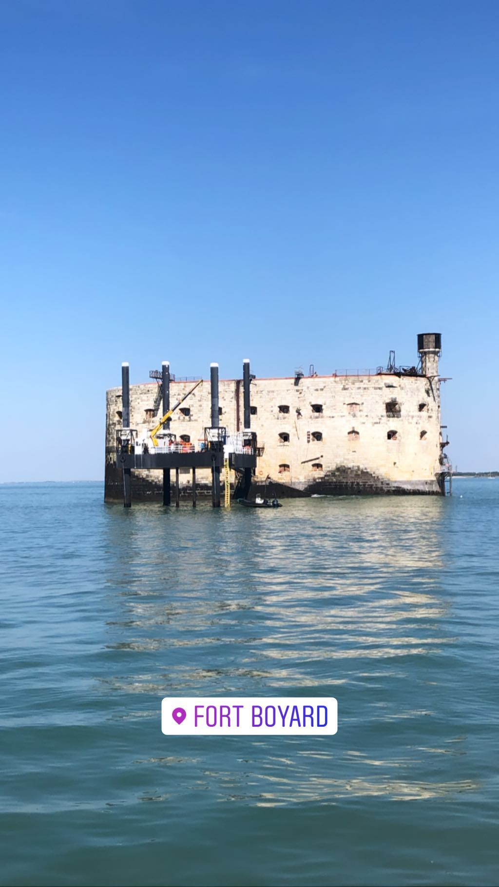 Photos divers de Fort Boyard 2019 (internautes + hors production) - Page 6 56660110