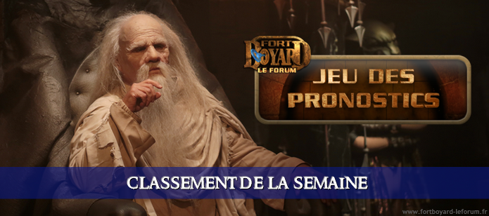 [RÉSULTATS] Classement hebdo après l'émission 2 du samedi 18/07/2020 Pronos11