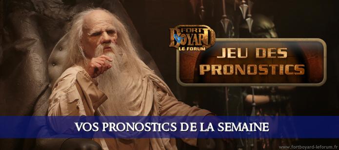 [FERMÉ] Vos pronostics pour l'émission 3 du samedi 25/07/2020 Pronos13