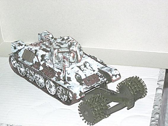 Fertigbaubericht T 34/76 mit Minenroller Zvezda 1:35 02_t3410