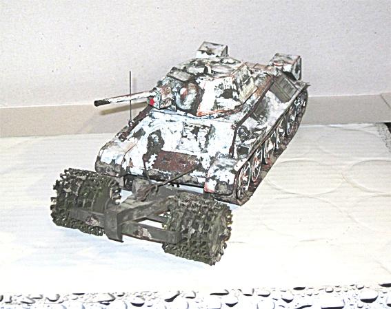 Fertigbaubericht T 34/76 mit Minenroller Zvezda 1:35 03_t3410