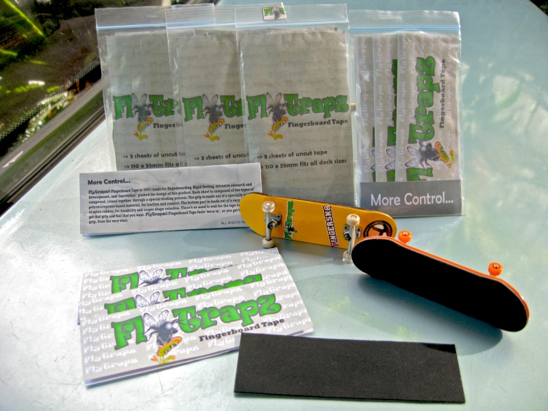 FlyTrapz® Fingerboard Tape - 100% made for fingerboarding - Page 4 Flytra12