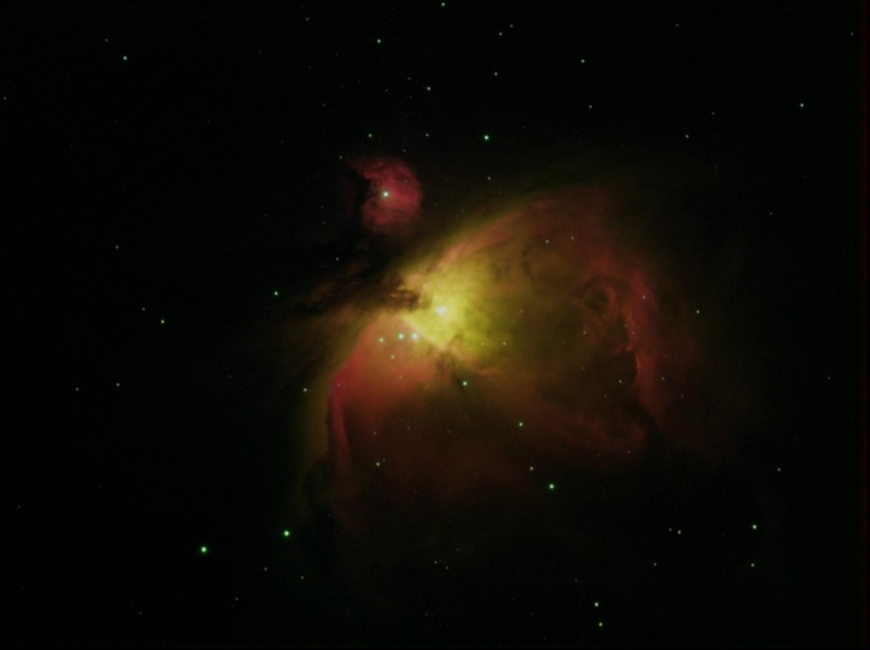 M42 en SII-Ha-OIII- HA M42_or10