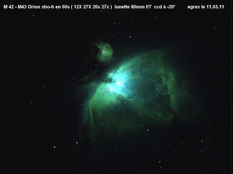 M42 en SII-Ha-OIII- HA M42m4310